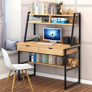 Desk with Drawer Office Computer Table Furniture