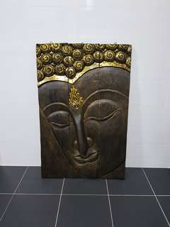 Buddha Wooden Frame (Big)
