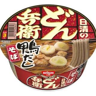 日清兵衛 鴨湯鴨肉味蕎麥麵