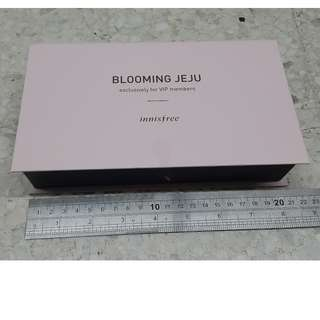 >> EMPTY BOX ONLY - THICK PAPER << INNISFREE BLOOMING JEJU