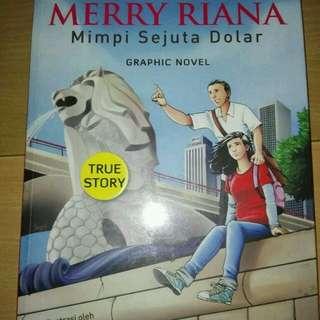 Buku Merry Riana mimpi sejuta dollar graphic novel