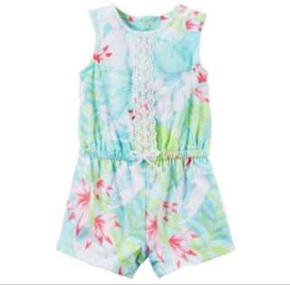 *18M* BN Carter's Hawaiian Floral Romper For Baby Girl