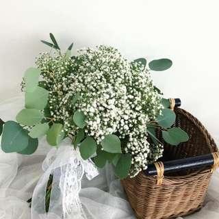Baby Breath Bouquet
