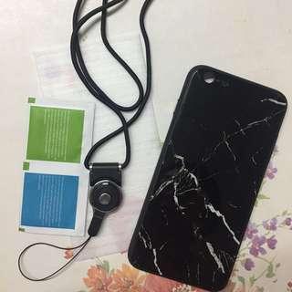 雲石玻璃手機殼 iphone6/6s plus