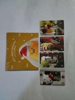 MTR & Sanrio characters 紀念車票 套裝