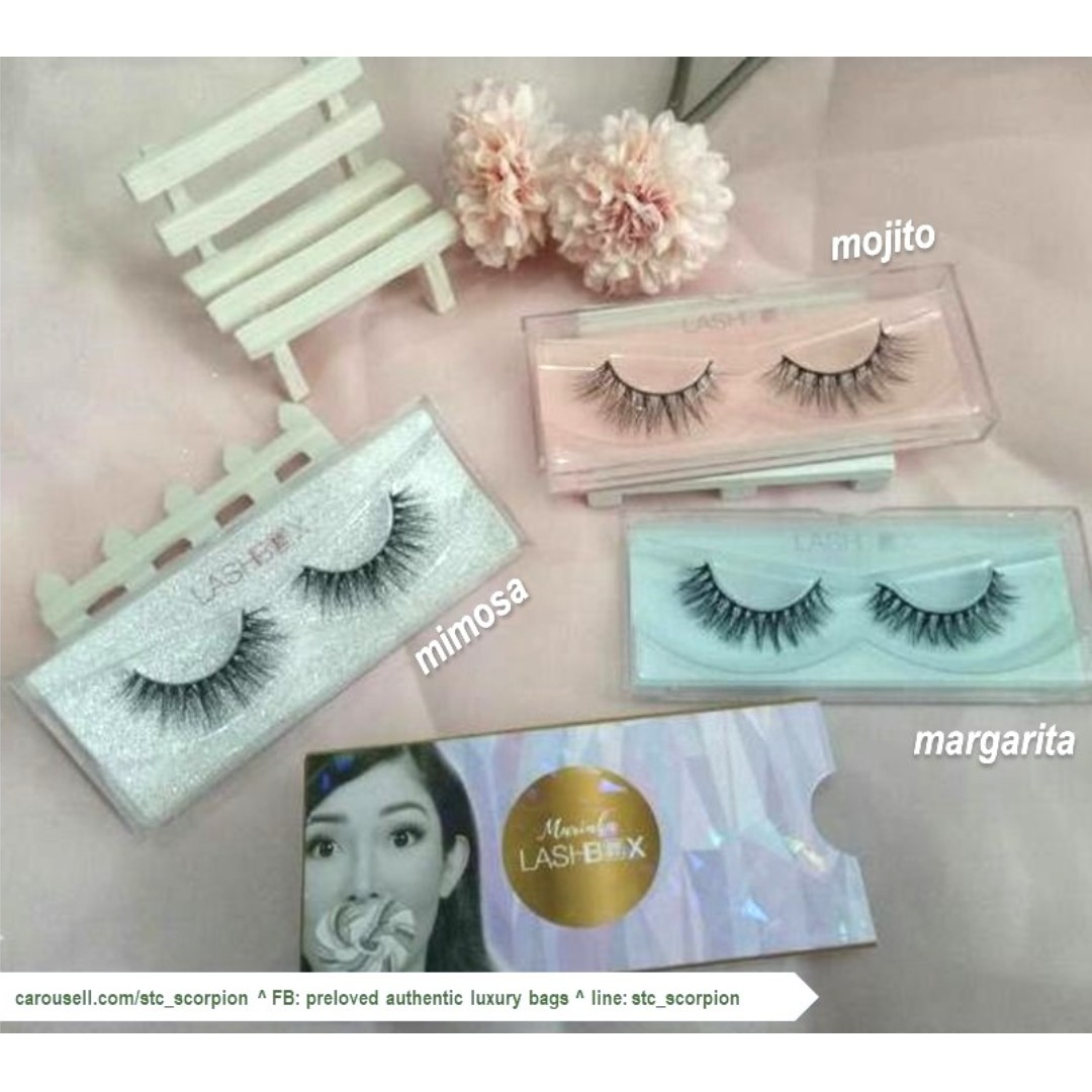 (Chef Marinka - Brand Ambassador) 3D mink strip eyelashes