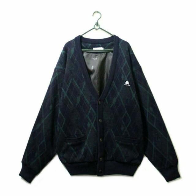純羊毛毛衣外套 100%wool pure new wool 古著 vintage