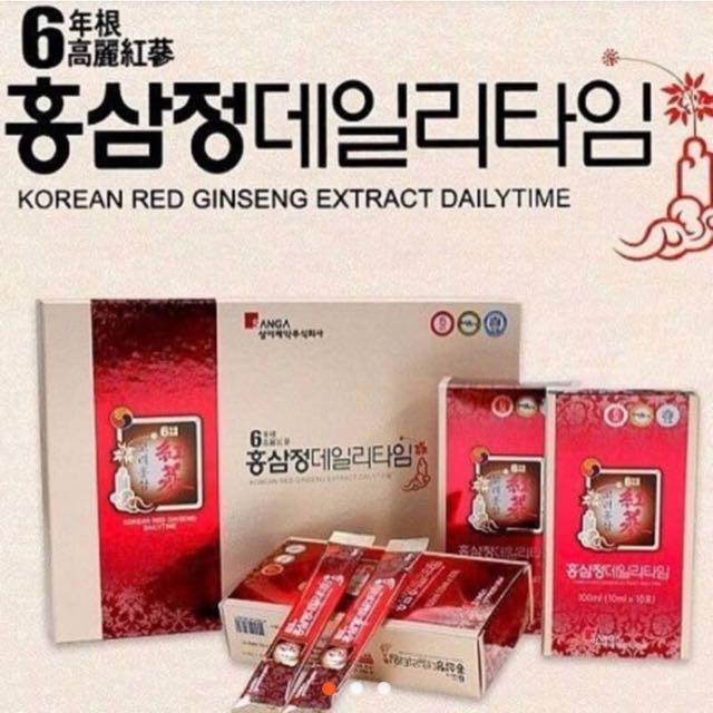 韓國高麗紅蔘人蔘液~韓國帶回的