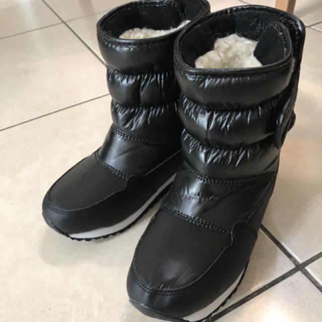 兒童防水雪靴