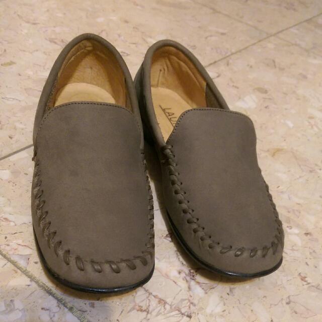 麂皮休閒鞋