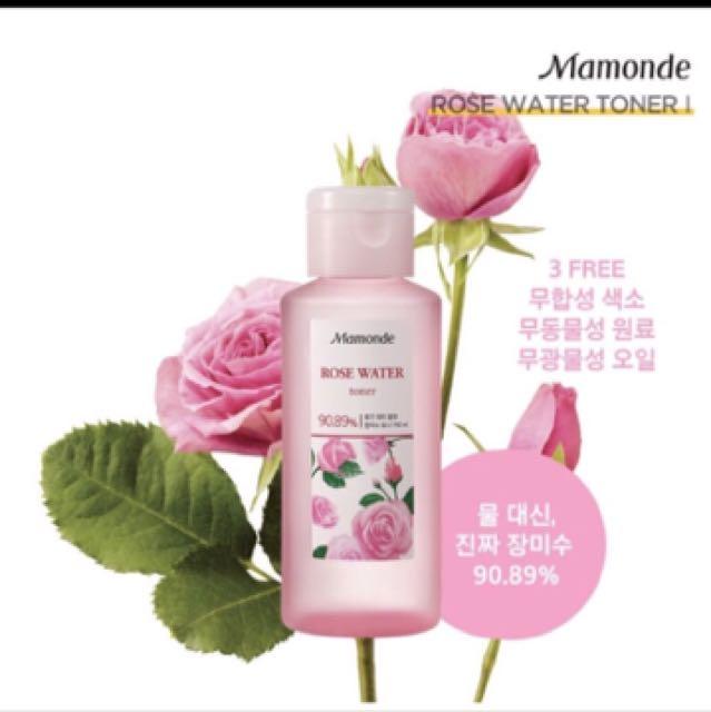 夢妝 玫瑰 化妝水