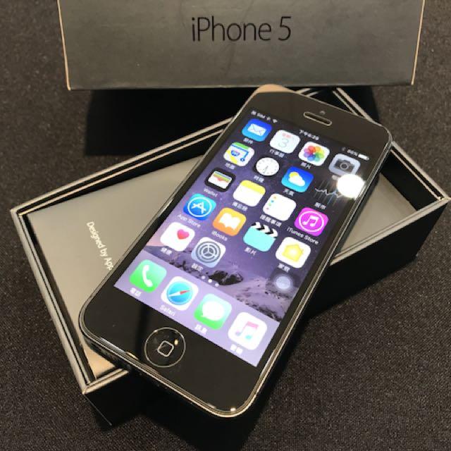 狀況好 iPhone5 32G 黑色 電池循環40次 健康度98% 附充電頭加線(不議價)高雄大寮鳳山可面交