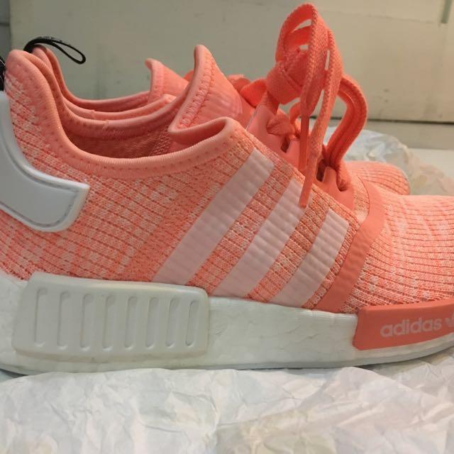Adidas NMD R1 Women Size 38 Peach - NEW