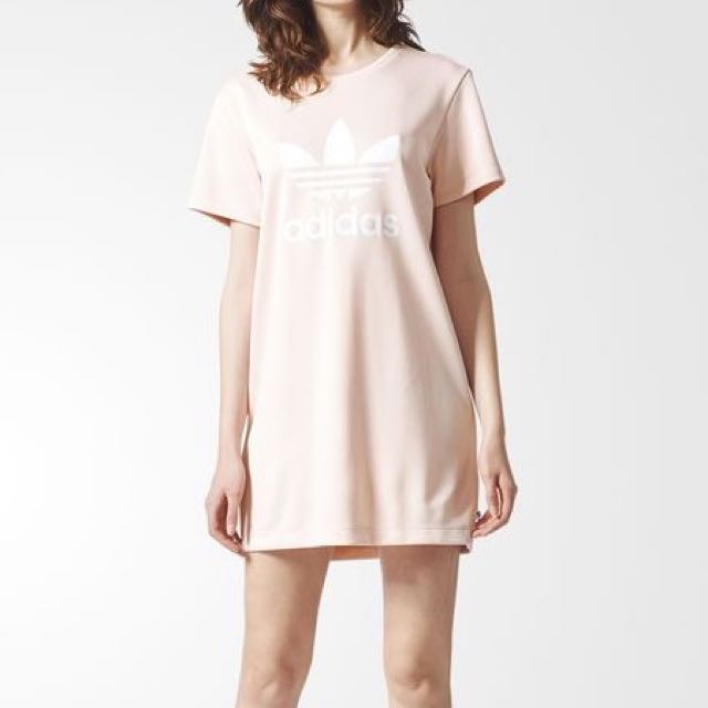 Adidas Pink Trefoil Dress