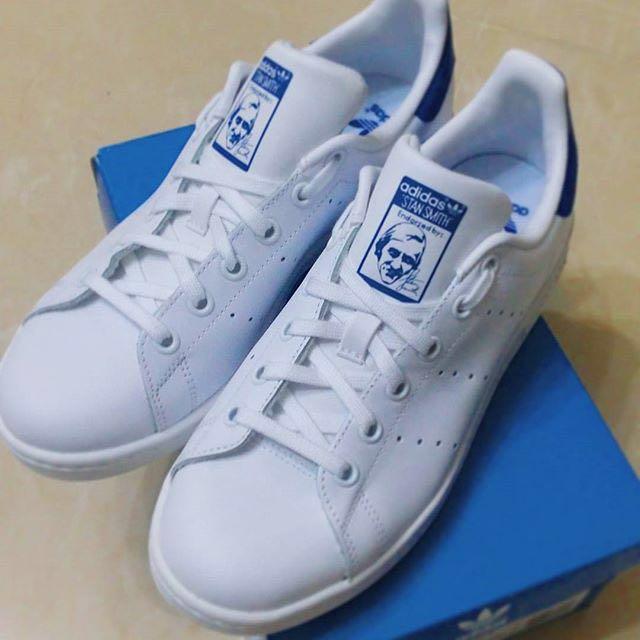 adidas stan smith 寶藍色👟