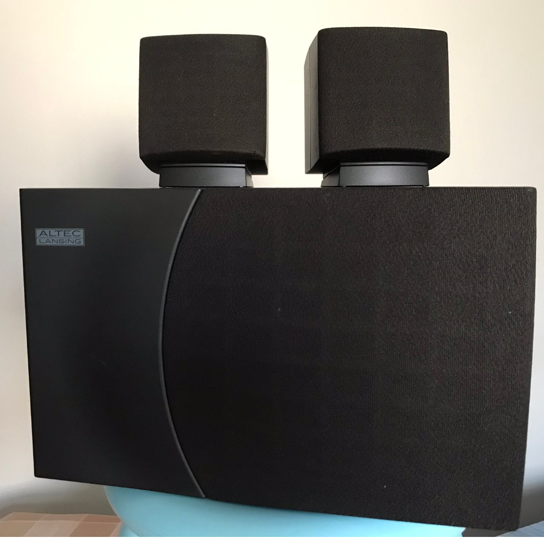 Altec Lansing Spare Parts Malaysia Speaker Vs4621 Multimedia Speakers And Subwoofer Acs 45 1