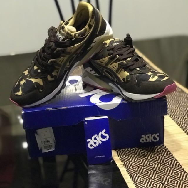 ASICS X BAPE GEL KAYANO TRAINER, Men's Fashion, Footwear on