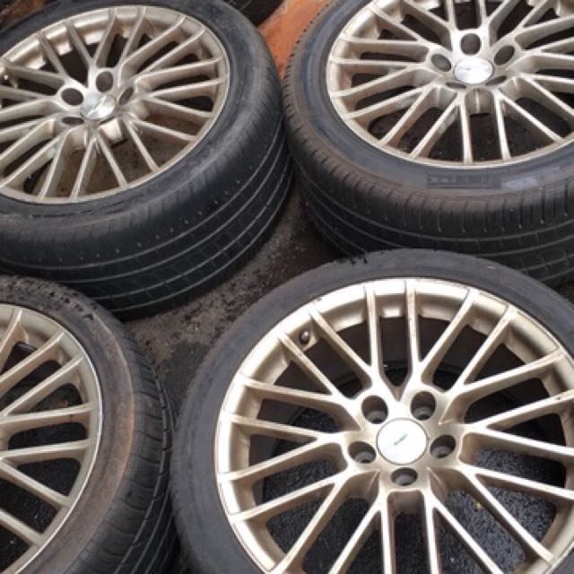 Aston Martin Rim And Tyres For Sale Car Accessories On Carousell