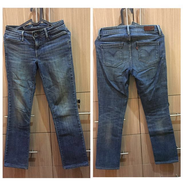 Authentic Levi's Jeans Demi Curve Bootcut Skinny Preloved