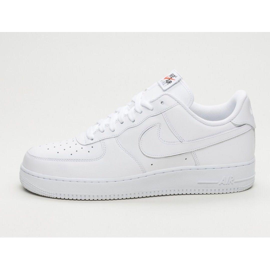 Nike Air Force 1 07 Qs Swoosh Paquete De Bocadillos Blancos aclaramiento gran sorpresa 7ycgYi