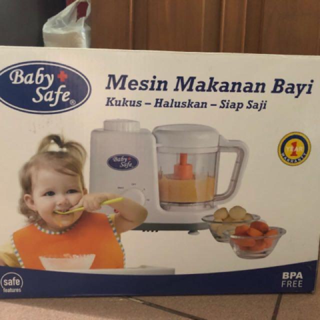 baby safe mesin makanan bayi