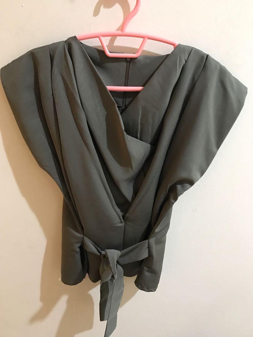 Baju bkk -grey