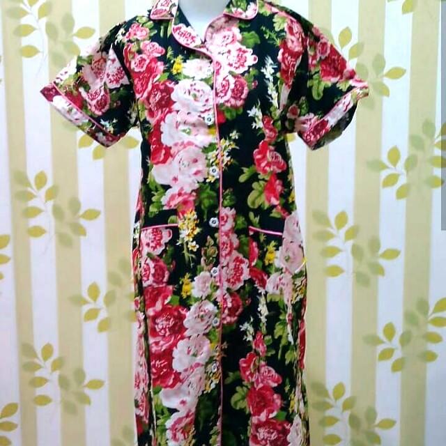 Baju Tidur / Piyama Floral Baru