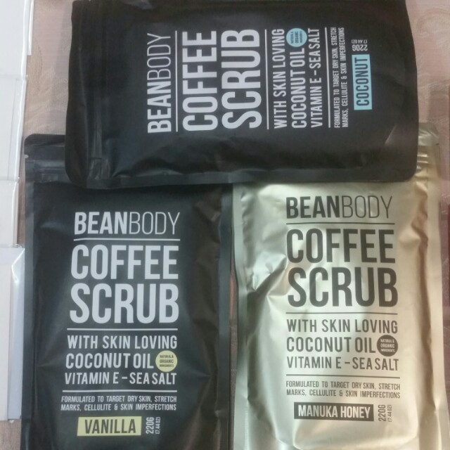 Beanbody coffee scrubs (price is each)