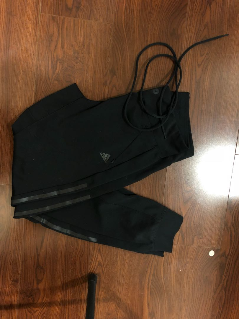 Black ADIDAS climalite sweat pant