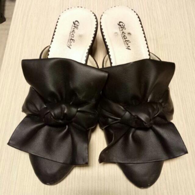 Black Sandal / Selop
