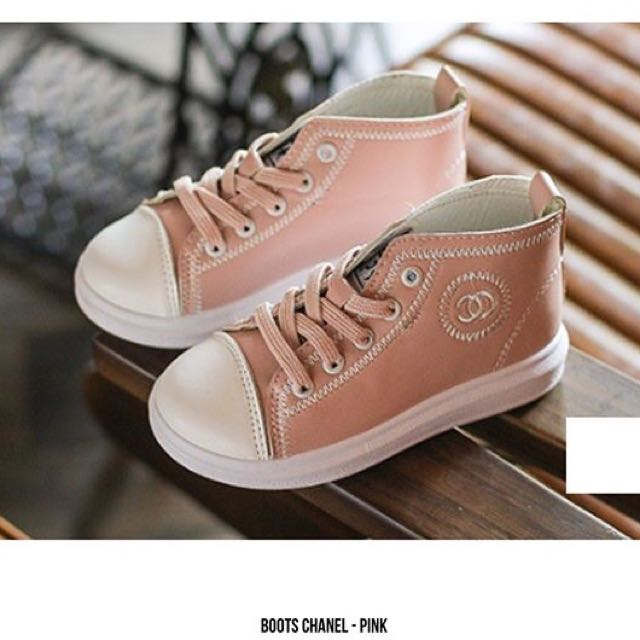 BOOTS CHANNEL - Pink