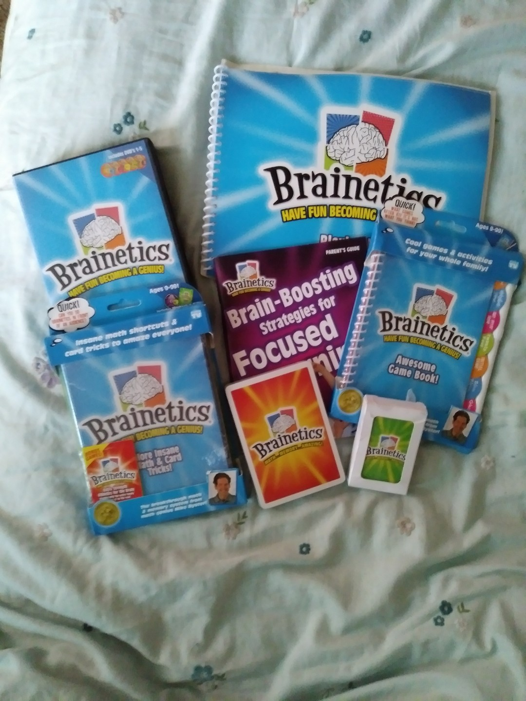 Brainetics learning game