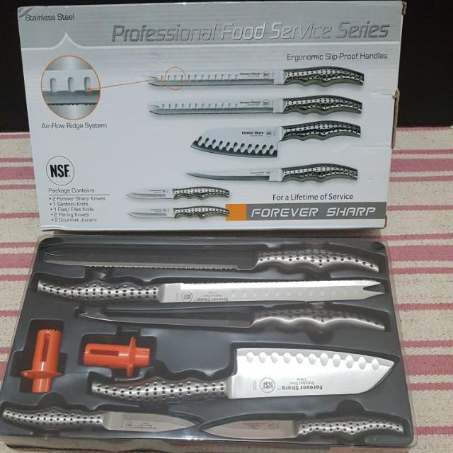 Brand new knives