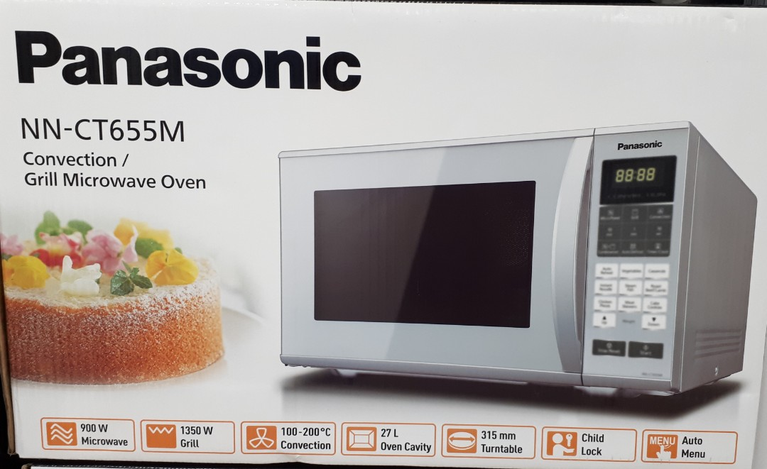 Brand New Panasonic NN-CT655M Convection / Grill Microwave Oven