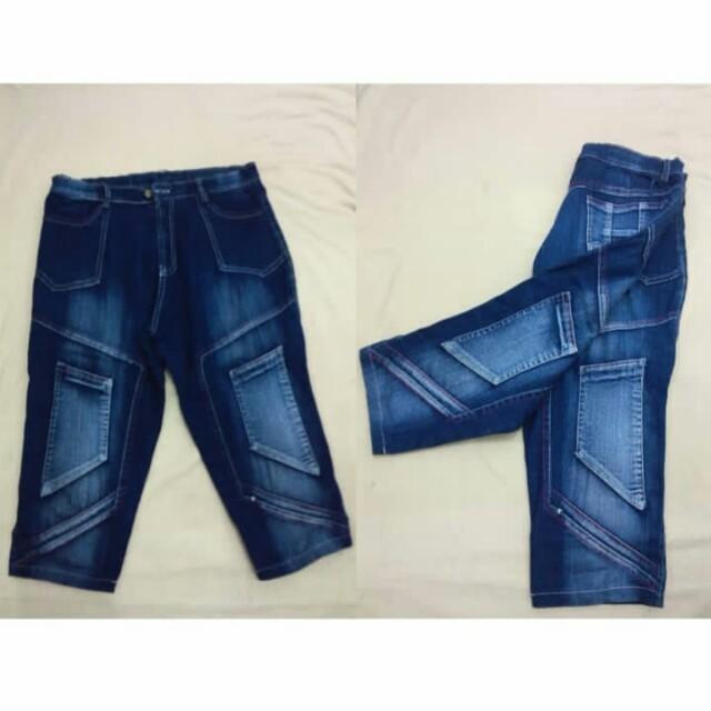 Celana 3/4 size M fit L
