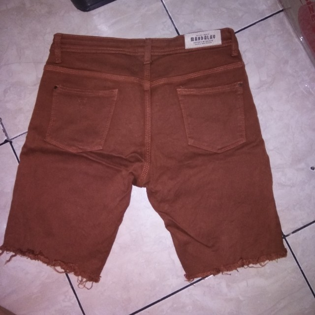 celana ponggol siwir mandalay brown