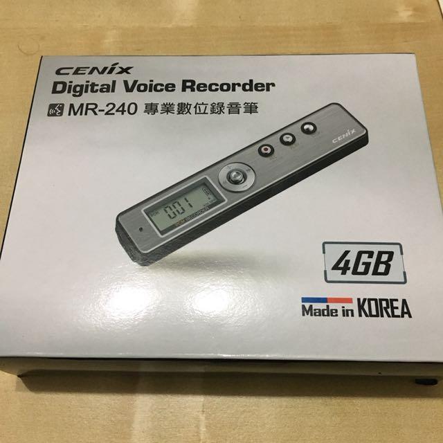 CENIX MR-240 專業數位錄音筆