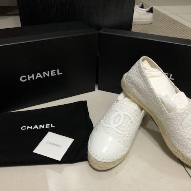 Chanel 鉛筆鞋 37號