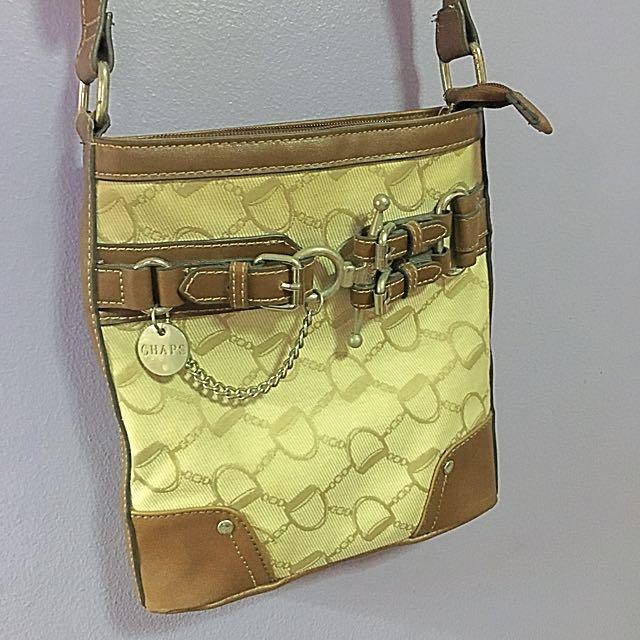 Chaps Messenger Bag