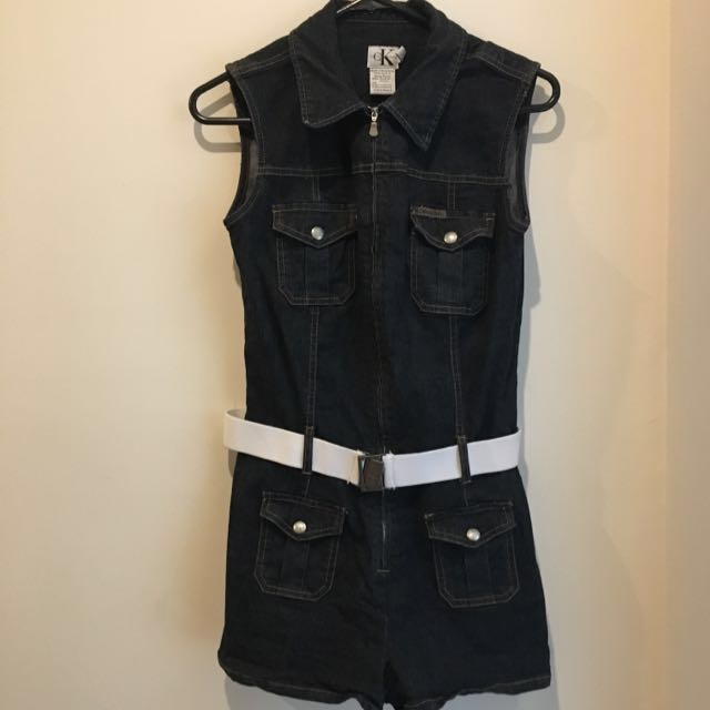 CK Denim Playsuit Size medium