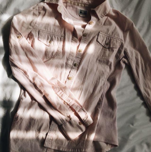 🛍CONVERSE Button-Up Shirt/Flannel