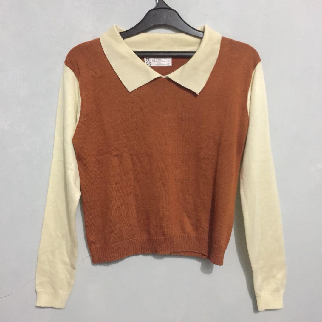 Crop Sweater knitwear