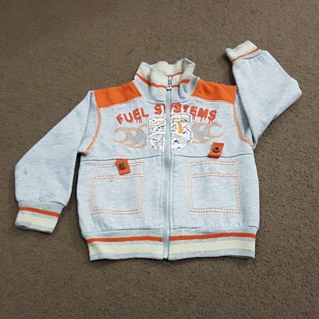 《cute grey baby jacket》
