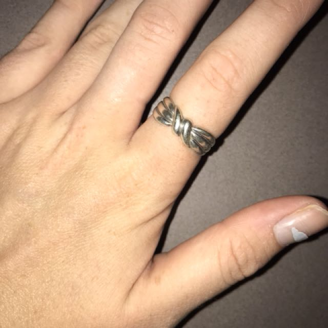Cute sterling silver ring
