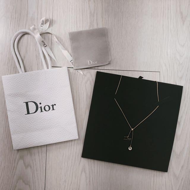 Dior 迪奧 水晶項鍊 極新❤️可議!