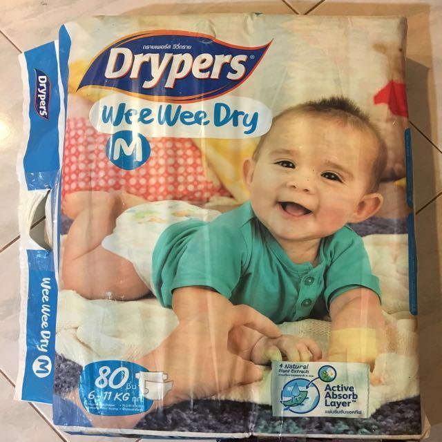 27f62acedebf Drypers Wee Wee Dry M 80