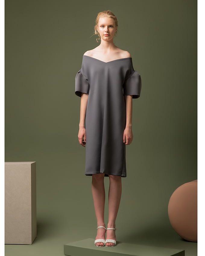 Duma Nebula Dress - Grey