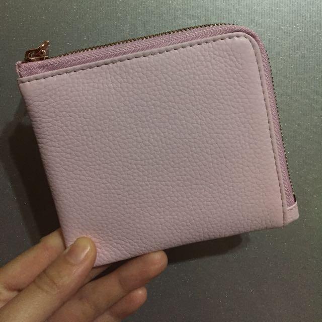 Emma yao 粉紅色零錢包/皮夾