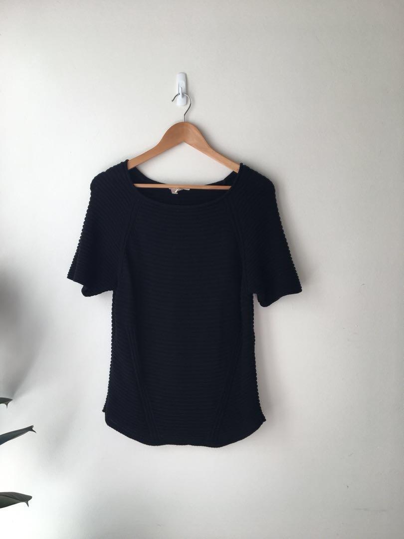 Esprit black knit