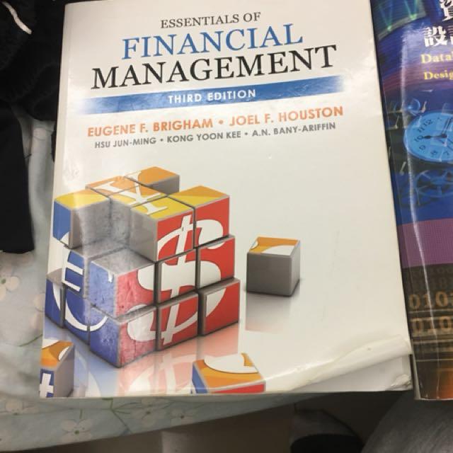 Essential of financial management 財務管理加中譯本